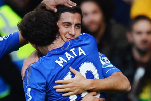 How Manchester United Can Stop Chelsea's Eden Hazard and Juan Mata
