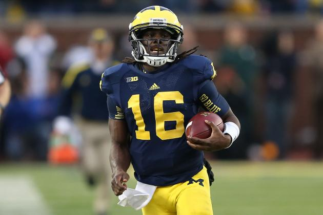 Michigan Football: Denard Robinson Will Best Taylor Martinez in Big Ten Battle