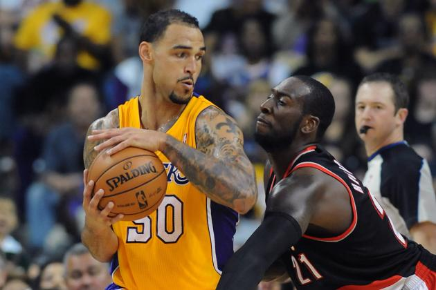 Lakers Rumors: Why Robert Sacre Making the Final Roster Is a Lock