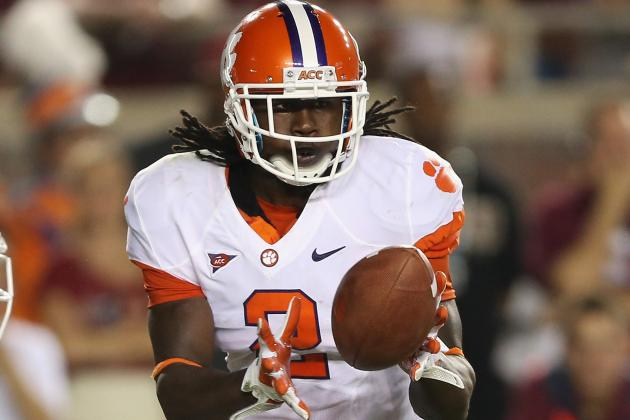 Sammy Watkins Will Not Start vs. Wake Forest