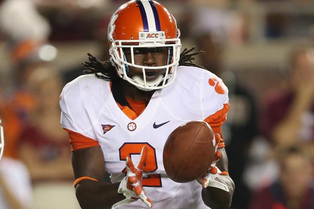 Sammy Watkins Won't Start (but Will Play) Against Wake Forest