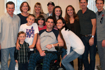 Bryan Stow Attends World Series Game