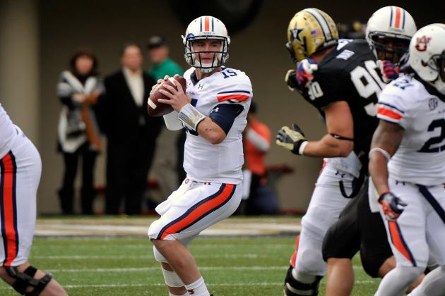 Auburn Names Clint Moseley Starting Quarterback for Texas A&M Game