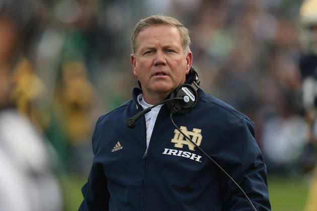Notre Dame vs. Oklahoma: Who Has the Coaching Edge—Brian Kelly or Bob Stoops?
