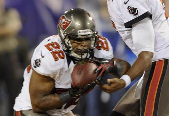 The Vikings have no answer for running back Doug Martin.