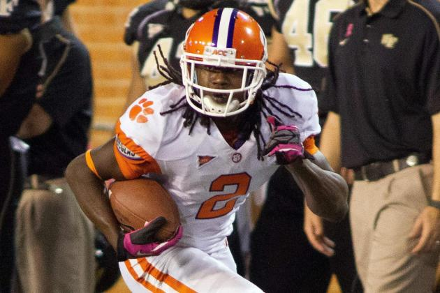 Sammy Watkins, Tajh Boyd Lead Clemson to 42-13 Win over Wake Forest