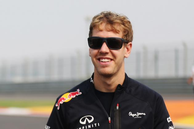 Sebastian Vettel Comfortable Being Chased in the Championship