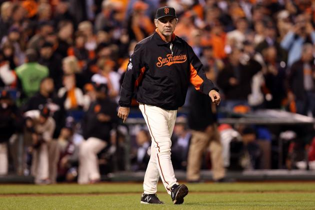Giants Manager Bruce Bochy Keeps Pushing All of the Right Buttons
