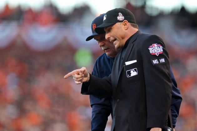 World Series: After Video Review, Umpire Crew Perfect in San Francisco Games