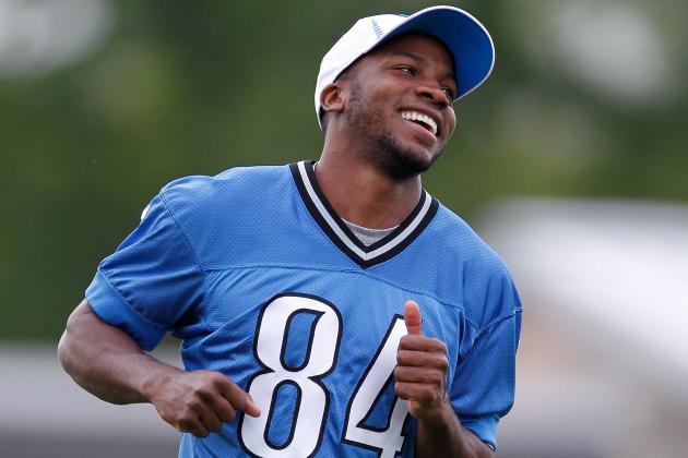 Lions Rookie Ryan Broyles Ready for Bigger Role