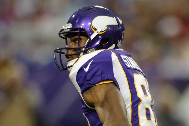 Jerome Simpson: Updated Fantasy Analysis & Outlook for Vikings WR