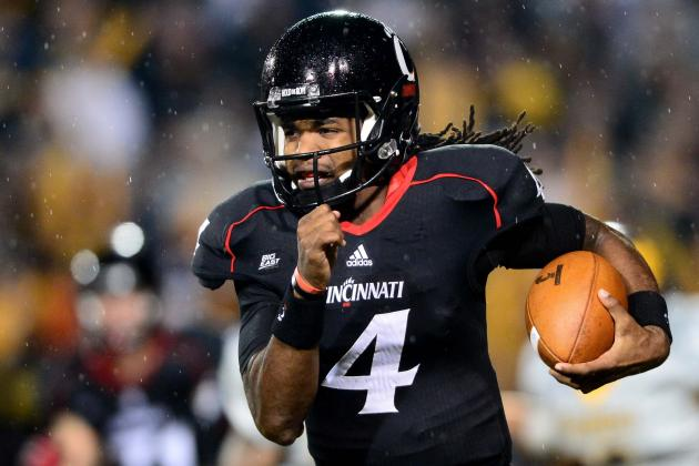 Big East: Cincinnati QB Legaux Needs to Back Up Statements vs. Louisville