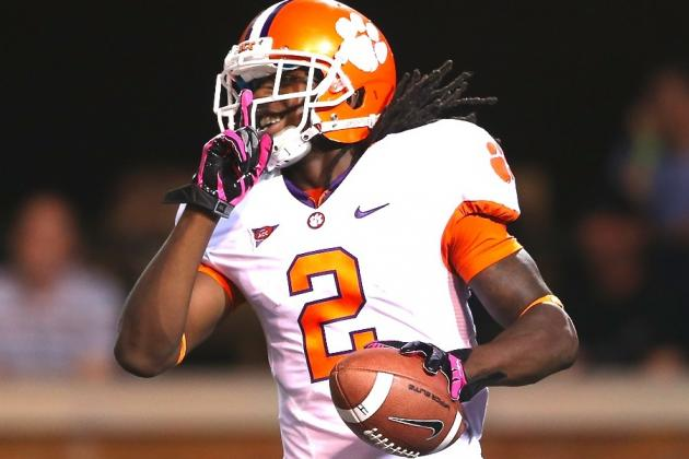 Sammy Watkins: Will Record-Setting Game Boost Clemson WR to Big 2012 Finish?