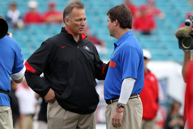 UGA's Greg McGarity Not Changing Stance on Inviting Recruits to Jacksonville