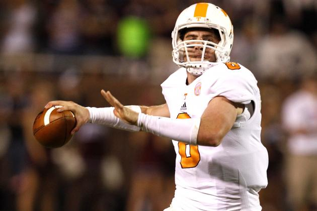Tennessee vs. South Carolina: Tyler Bray Will Prove He's Man to Lead Volunteers