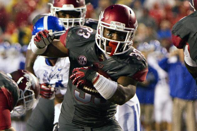 Meeting with Mother Helps Arkansas Get Best from Johnson