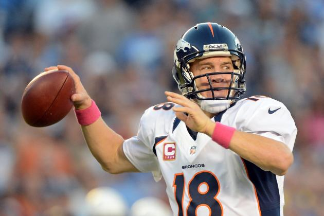 Peyton Manning: Breaking Down QB's Week 8 Fantasy Matchup