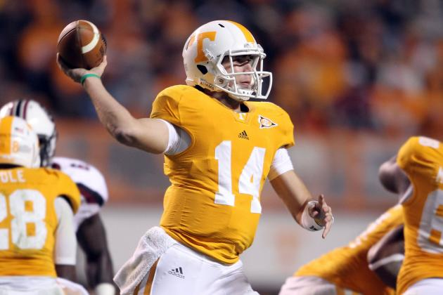 Chaney Says Tennessee Backup QB Justin Worley 'Ready to Play' If Needed