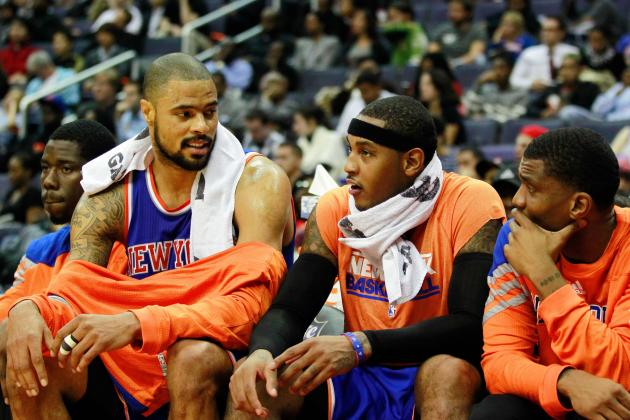 Tyson Chandler Doesn't Believe That Carmelo Anthony Wants to Score Less