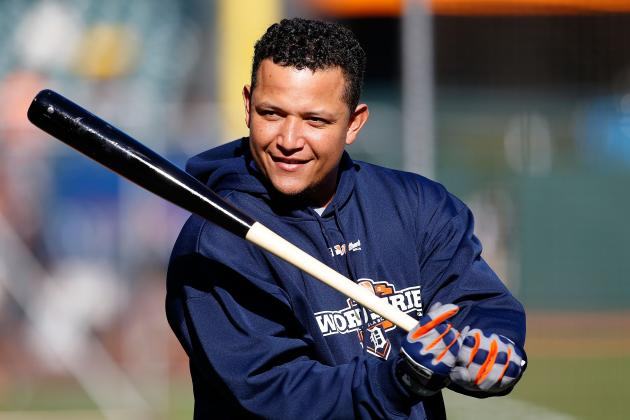 Miguel Cabrera Named Player of the Year by Sporting News