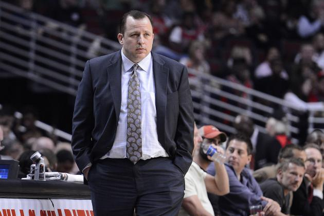 Bulls Coach Tom Thibodeau's Wish: Fourth-Quarter Consistency