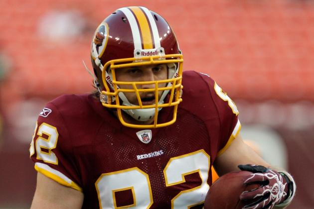 Logan Paulsen to Start at Tight End for Redskins vs. Steelers