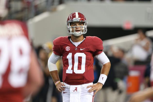 Alabama QB A.J. McCarron Will Boost His Heisman Stock vs. Mississippi State
