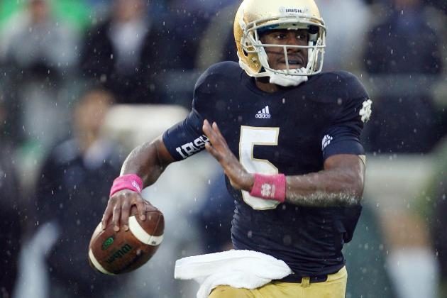 Notre Dame's Golson's Progress Makes Kelly's Day