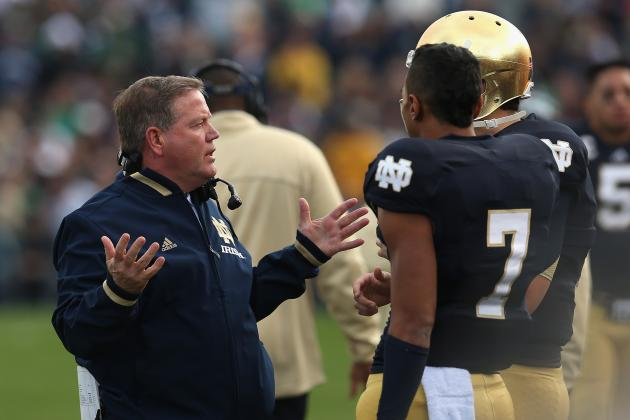 Brian Kelly, Notre Dame Face Breakthrough Game Against Oklahoma