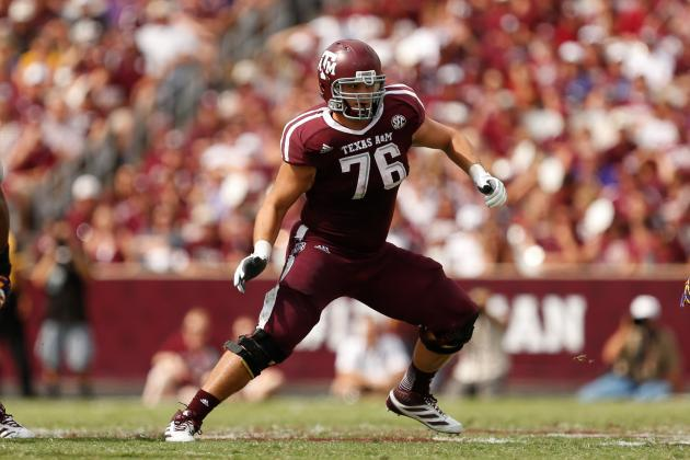 Two Texas A&M Linemen Make the Top 10 of Mel Kiper Jr.'s Big Board