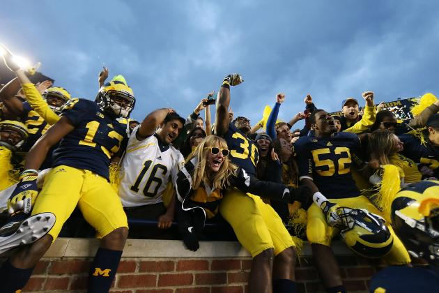 Michigan Football: Win over Nebraska Puts Wolverines Back in BCS Driver's Seat