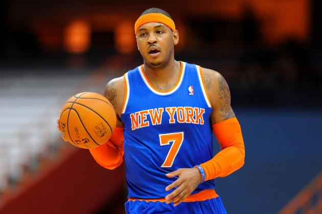 Visual Proof That Carmelo Anthony Can Be Star the New York Knicks Need Him to Be