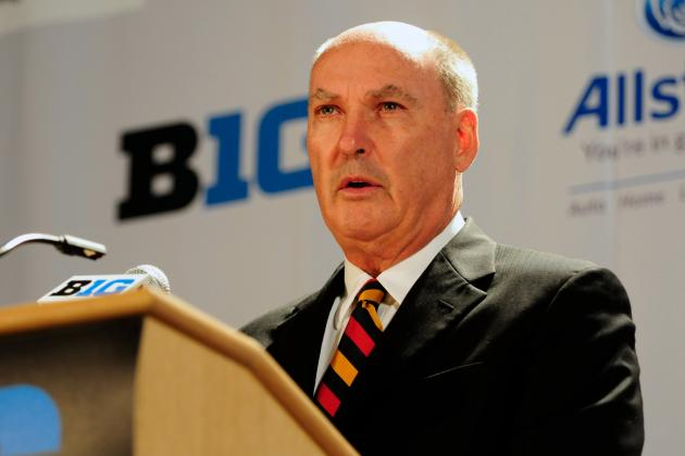 Big Ten Kicks off Basketball, and Everybody Wants to Talk Football Woes