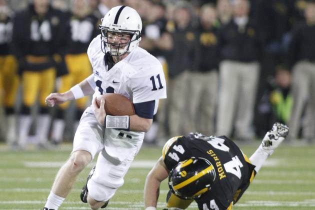 Matt McGloin's Standout Senior Play Fuels Penn State's Unlikely Success