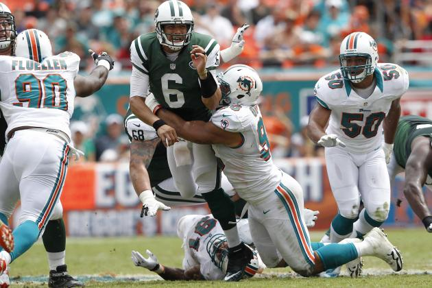 How Should the Miami Dolphins Defense Attack Jets Quarterback Mark Sanchez?