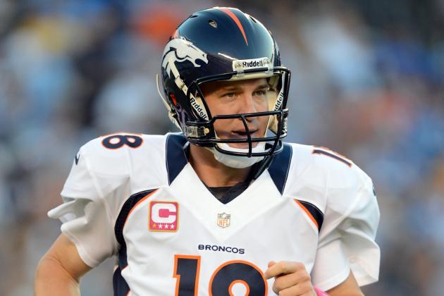 Peyton Manning: Why Denver Broncos QB Is Fantasy Football Must-Start