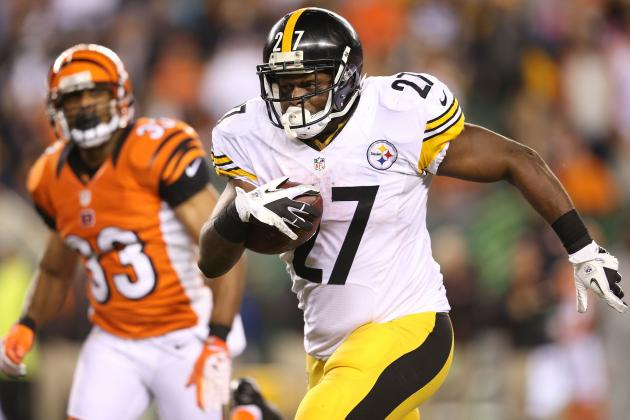 Jonathan Dwyer: Pittsburgh Steelers RB Is Must-Start vs. Redskins