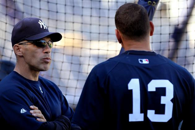 Girardi Made Special Press-Level Call to Shield A-Rod's Feelings