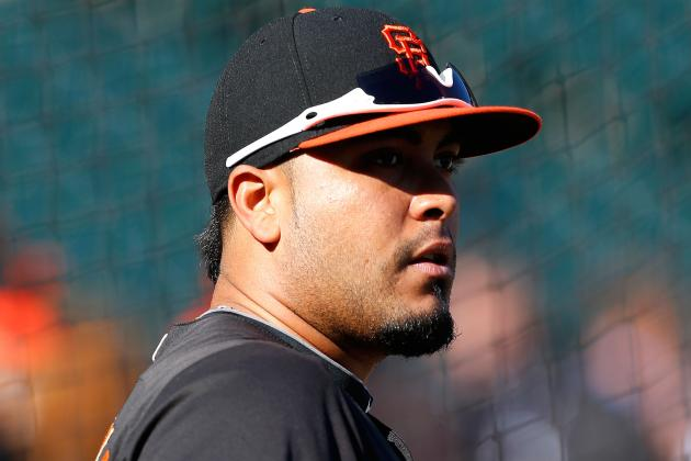 Giants Settle on Hector Sanchez as Game 3 Designated Hitter