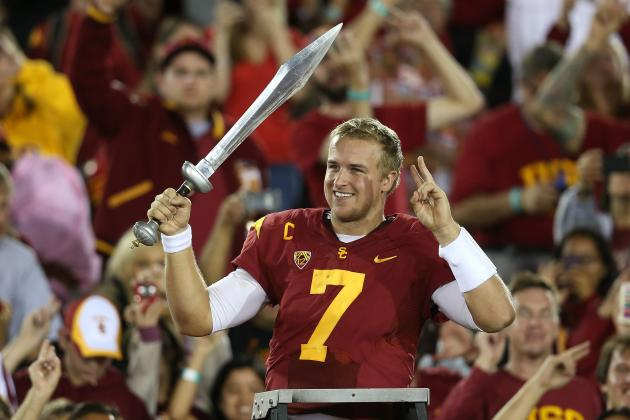 USC vs. Arizona: Matt Barkley Will Pass His Way Back into Heisman Contention