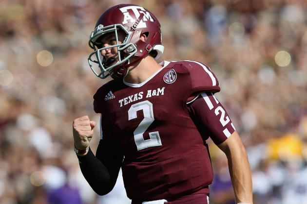 Texas A&M vs. Auburn: Johnny Manziel and Aggies Will Rebound with Blowout