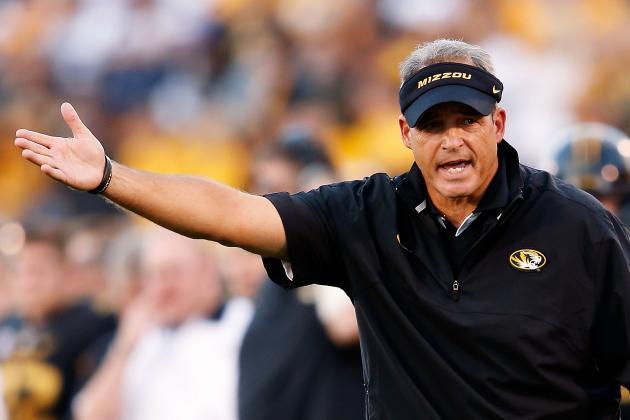 Entering Must-Win Game, Missouri's Pinkel Isn't in Panic Mode