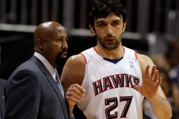 Mike Woodson Let Zaza Pachulia Skip Practice Because He Had a Hot Date