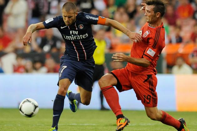 Jeremy Menez: Exciting Midfielder Is the Sparkplug of the PSG Engine