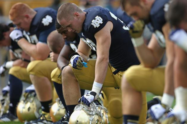 Notre Dame Football: Fighting Irish Will Fall out of BCS Championship Picture