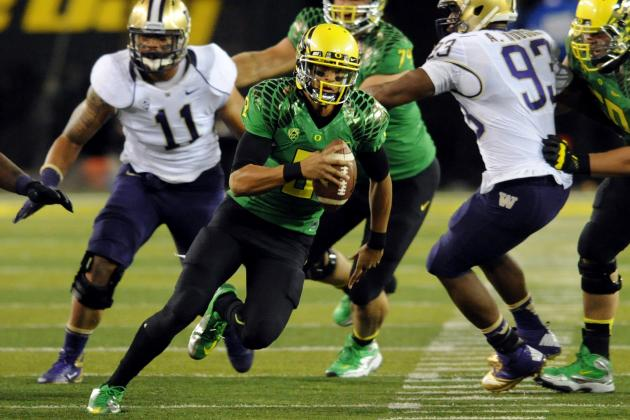 Colorado vs. Oregon: Ducks Must Win Big to Keep Pace in BCS Standings