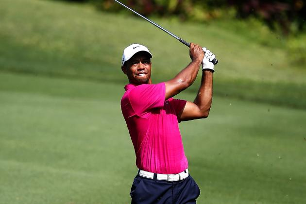 Tiger Woods Shoots 69; Bo Van Pelt Flirts with 59 in Malaysia