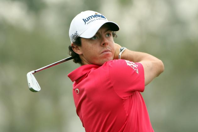 Rory McIlroy Is 1 Behind Peter Hanson at the BMW Masters in Shanghai