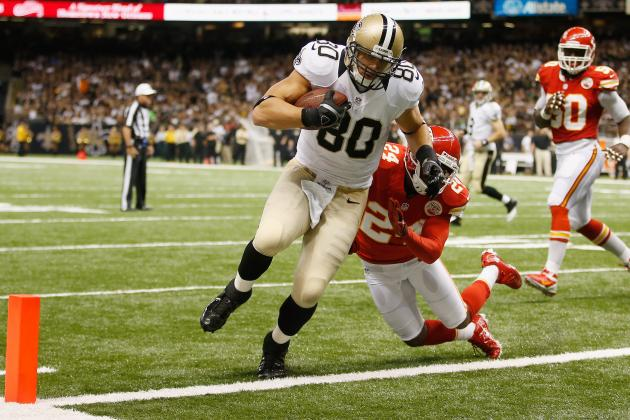 Jimmy Graham: Saints Dynamic TE Should Be in Your Fantasy Squad's Lineup
