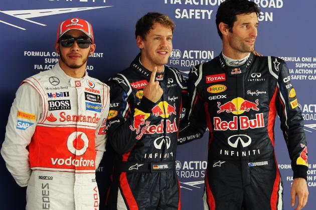 Vettel Edges Teammate Webber for Indian Grand Prix Pole